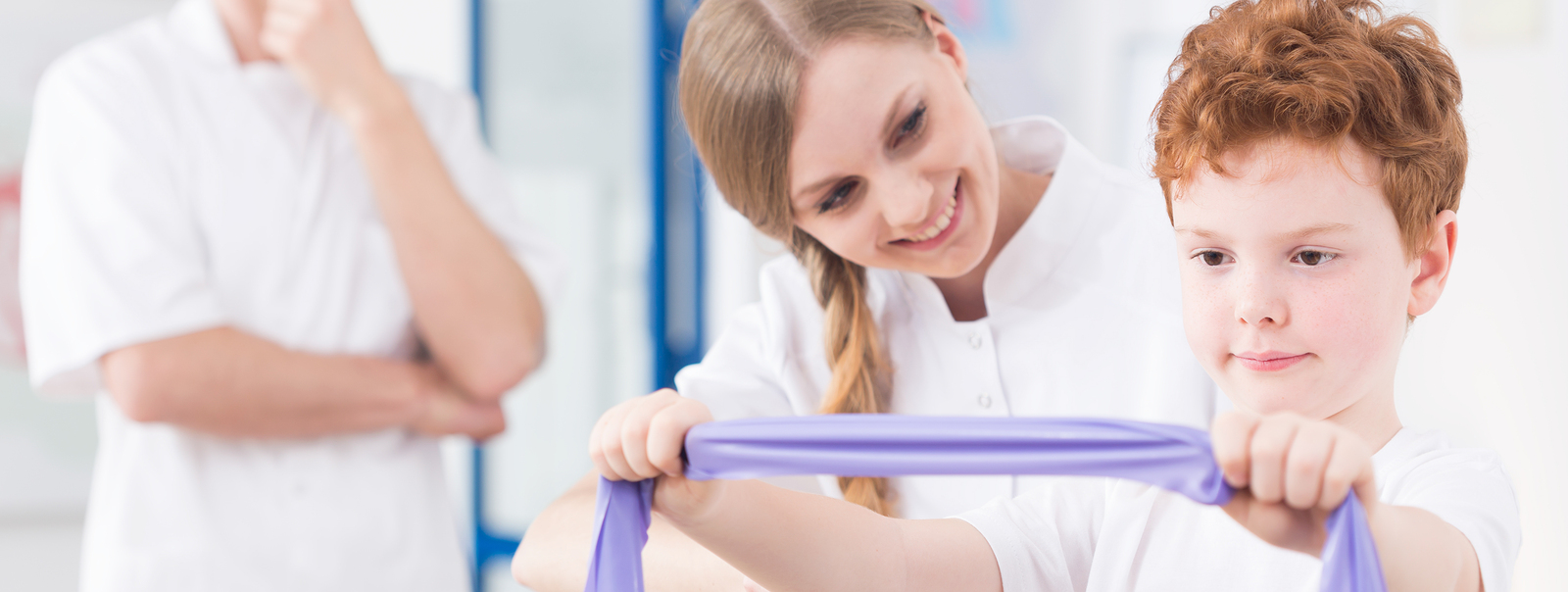 The following health conditions are commonly treated by physical therapists specializing in the area of Pediatrics: